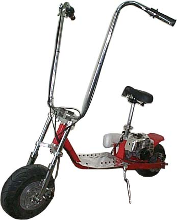 Scooter X 52 Cc Hog Gas Scooter