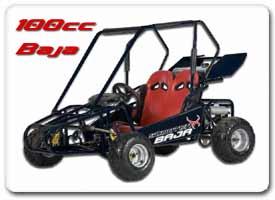 100cc Baja Go Kart