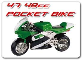 47cc-49cc pocket bike