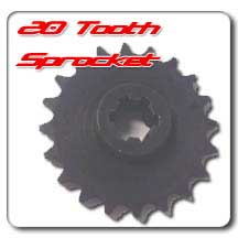 20 tooth sprocket