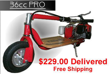 Buy 36cc Gas Motor Scooters